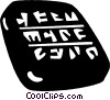 Vector Clipart picture  of a Egyptian hieroglyphics