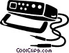 cb radio Vector Clipart graphic
