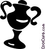 trophy Vector Clipart graphic