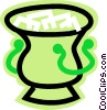 ice pail Vector Clip Art picture