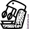 Vector Clipart graphic  of a electric mixer