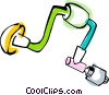 drills Vector Clip Art graphic