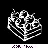 apples Vector Clipart illustration