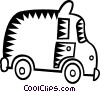 Vector Clipart image  of an ambulance