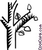 Vector Clipart illustration  of a tree