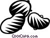 Vector Clipart graphic  of a beans