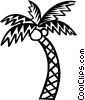 palm tree Vector Clipart picture