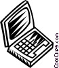 notebook/laptop computers Vector Clipart image