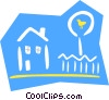 house/home Vector Clipart graphic