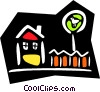 house/home Vector Clip Art picture