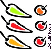 peppers Vector Clip Art picture