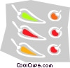 peppers Vector Clipart graphic