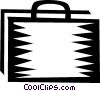 Vector Clipart image  of a Briefcases