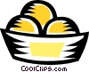 Vector Clipart image  of a Buns and Rolls