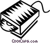 Vector Clipart graphic  of a CD rom drives
