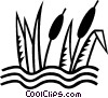 cat tails Vector Clipart graphic
