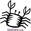 crab Vector Clipart illustration