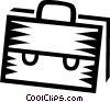 Briefcase Vector Clipart graphic