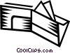 Vector Clip Art graphic  of a wallet