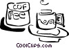 coffee cups Vector Clipart graphic