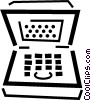 notebook/laptop computers Vector Clipart graphic