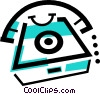home telephones Vector Clipart graphic