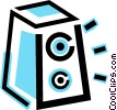audio tape Vector Clip Art graphic