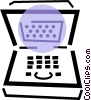 notebook/laptop computers Vector Clipart picture