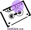 audio tape Vector Clip Art picture