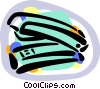 Vector Clip Art image  of a Stapler