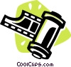 Vector Clipart picture  of a Camera film