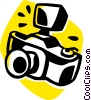 35mm camera Vector Clipart graphic