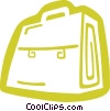 Vector Clipart picture  of a briefcase