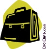 Vector Clipart illustration  of a briefcase