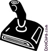 joystick Vector Clipart illustration