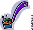 soup ladle Vector Clip Art image
