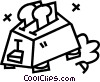toaster Vector Clipart picture