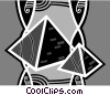 pyramid Vector Clipart picture