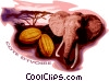 Vector Clipart graphic  of a Cote D'Ivoire