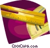 Vector Clip Art picture  of a rulers