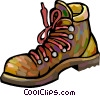 Vector Clipart illustration  of a work boots