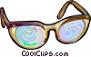 glasses Vector Clipart picture