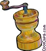 pepper mill Vector Clipart image