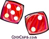 dice Vector Clip Art picture