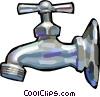 faucet Vector Clip Art image