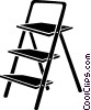 ladder Vector Clipart illustration