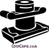 Vector Clip Art graphic  of a electric sander