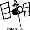satellites Vector Clipart picture