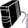 central processing units Vector Clipart picture