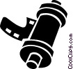 roll of film Vector Clipart graphic